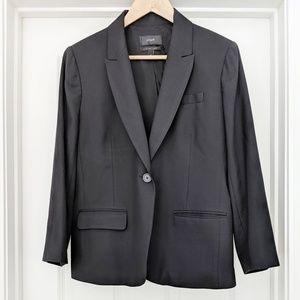 J. Crew 100% wool super 120's black blazer